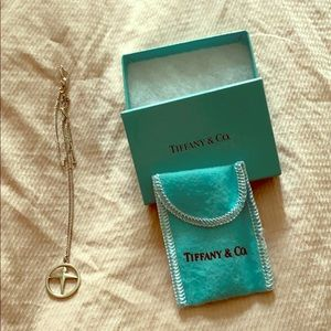 Tiffany and Co. pendant and chain NWT
